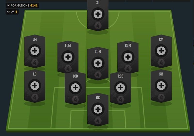 chiến thuật thống trị trong FIFA Online 4