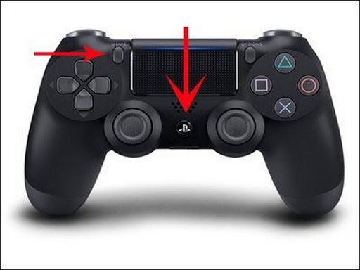 Cách kết nối tay cầm PS4